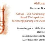 Rohr- und Kanalreinigung A. Braunstein